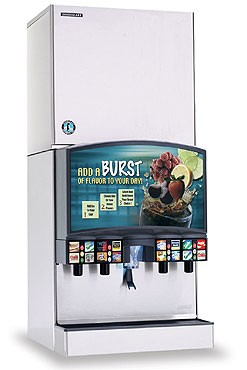 Hoshizaki KMD-901MWH 876 lb. Water-Cooled Cube-Style Ice Maker