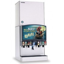 Hoshizaki KMS-1401MLH 1311 lb. Remote Air-Cooled Cube-Style Ice Maker