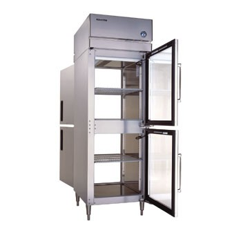 Hoshizaki PTR1SSE-HGHS One-Section, Half-Door,  Pass-Thru Refrigerator