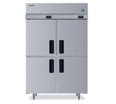 Hoshizaki PTR2SSE-HSHS Two-Section, Half-Door,  Pass-Thru Refrigerator