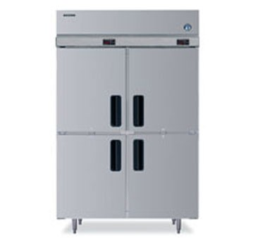 Hoshizaki RFH2-SSB-HD Two-Section, Half-Door,  Reach-In Refrigerator Freezer