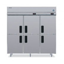 Hoshizaki RFH3-SSB-HD Three-Section, Half-Door,  Reach-In Refrigerator Freezer