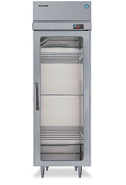 Hoshizaki RH1-SSE-FG One-Section Glass-Door Reach-In Refrigerator