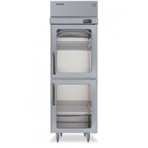 Hoshizaki RH1-SSE-HG One-Section Half Glass-Door Reach-In Refrigerator