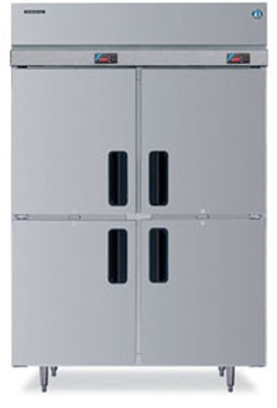 Hoshizaki RH2-SSE-HS Two-Section Half-Door Reach-In Refrigerator
