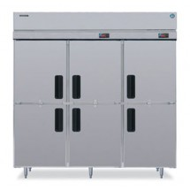 Hoshizaki RH3-SSE-HS Three-Section Half-Door Reach-In Refrigerator