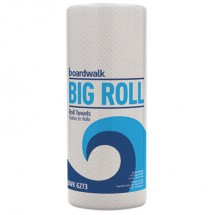 Household Perforated Paper Towel Rolls, 2-Ply, 11 x 8.5, White, 250/Roll, 12 Rolls/Carton