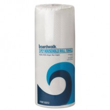 Household Perforated Paper Towel Rolls, 2-Ply, 11 x 9, White, 85 Sheets/Roll, 30 Rolls/Carton