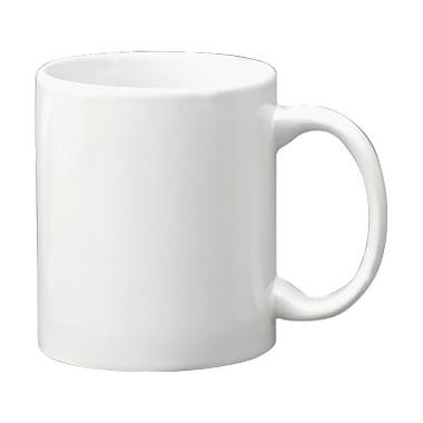 ITI 3424S-02 Cancun European White C-Handle Mug - 3 doz