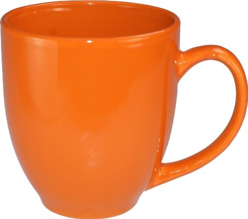 ITI 81376-210 14 oz. California Orange Bistro Cup - 3 doz