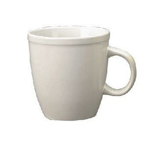 ITI 81950-02 17 oz. European White Vitrified Mocha Mug - 3 doz
