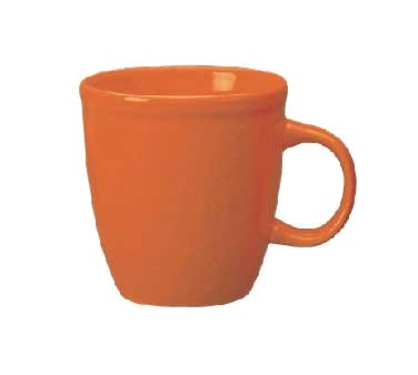 ITI 81950-210 17 oz. California Orange Vitrified Mocha Mug - 3 doz