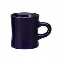 ITI 82245-04 10 oz. Cobalt Blue Vitrified Dinner Mug - 3 doz