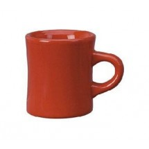ITI 82245-2194 10 oz. Red Vitrified Dinner Mug - 3 doz