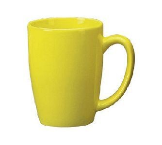 ITI 8286-242 14 oz Yellow Vitrified Endeavor Cup - 3 doz