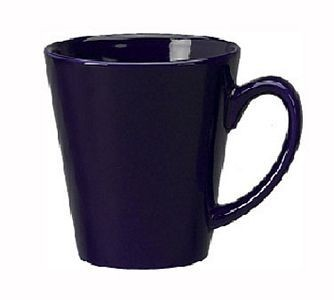 ITI 839-04 12 oz. Cobalt Blue Vitrified Funnel Cup - 3 doz