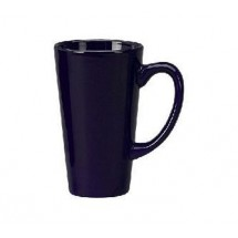 ITI 867-04 16 oz. Cobalt Blue Vitrified Funnel Cup - 2 doz