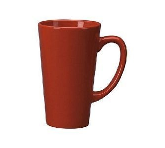 ITI 867-2194 16 oz. Red Vitrified Funnel Cup - 2 doz