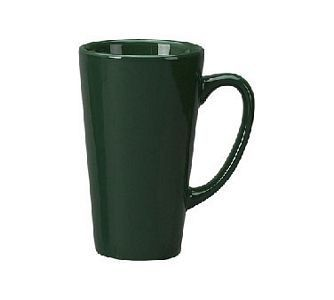 ITI 867-67 16 oz. Green Vitrified Funnel Cup - 2 doz