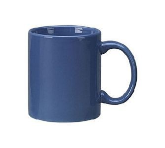 ITI 87168-06 Cancun Light Blue C-Handle Mug - 3 doz