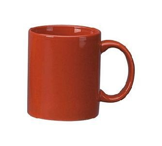 ITI 87168-2194 Red C-Handle Mug 11 oz. - 3 doz