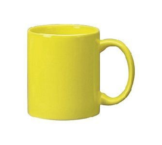ITI 87168-242 Cancun Yellow C-Handle Mug - 3 doz