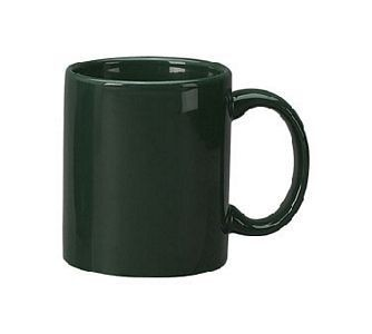 ITI 87168-67 Cancun Green C-Handle Mug 11 oz. - 3 doz