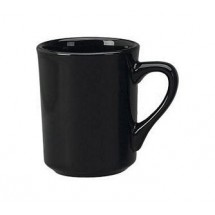 ITI 87241-05 8-1/2 oz Black Vitrified Mug - 3 doz