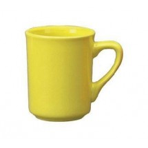 ITI 87241-242 8-1/2 oz. Yellow Vitrified Mug - 3 doz