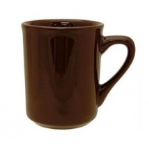 ITI 87241-30 8-1/2 oz. Brown Vitrified Mug - 3 doz