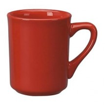 ITI 87241-664 8-1/2 oz. Crimson Red Vitrified Mug - 3 doz
