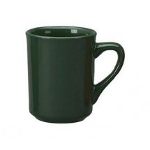 ITI 87241-67 8-1/2 oz. Green Vitrified Mug - 3 doz