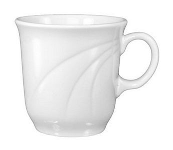 ITI AM-1 Amsterdam Embossed Porcelain Tall Cup 7 oz. - 1 doz