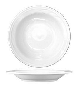 ITI AM-120 24 oz. Amsterdam Embossed Pasta Bowl 12-Piece - 1 doz