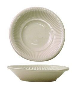 ITI AT-11  Athena American White Embossed Fruit Bowl 7 oz. - 3 doz