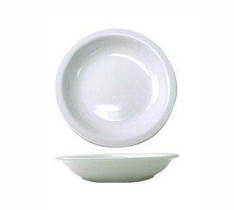 ITI BL-105 Bristol 106 oz. Fine Porcelain Salad / Pasta Serving Bowl - 1/2 doz
