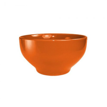 ITI CA-43-O Cancun Orange Footed Bowl 16 oz. - 2 doz