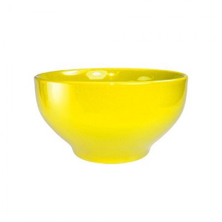 ITI CA-45-Y Cancun Yellow Footed Bowl 144 oz. - 1/2 doz