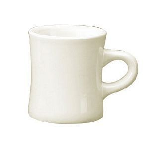 ITI CV-75 10 oz. American White Vitrified Dinner Mug - 3 doz