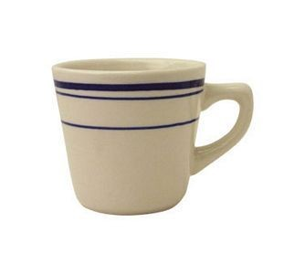 ITI CT-1 Catania Blue Band Tall Cup 7 oz. - 3 doz