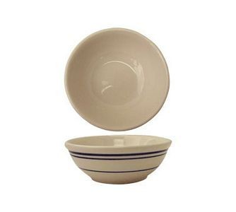 ITI CT-15 Catania Blue Band Oatmeal / Nappie Bowl 12-1/2 oz. - 3 doz