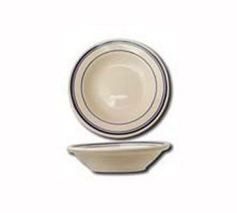ITI CT-32 Catania Blue Band Fruit Bowl 3 oz. - 3 doz
