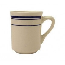 ITI CT-38 Catania Blue Band Mug 7-1/2 oz. - 3 doz