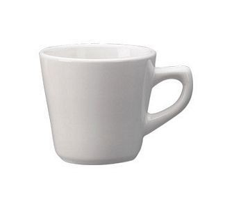 ITI DO-1 Dover 7 oz. Porcelain Tall Cup - 3 doz