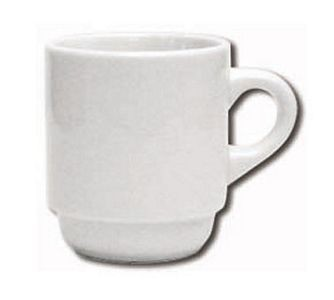 ITI DO-35 Dover 3 oz. Porcelain A.D. Cup - 3 doz