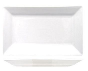 ITI EL-25 Elite Rectangular Porcelain Platter, 14