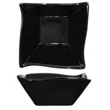 ITI FA-11-B 11 oz. Wave Black Fruit Bowl - 2 doz