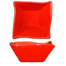 ITI FA-11-CR 11 oz. Wave Crimson Red Fruit Bowl - 2 doz