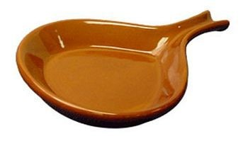 ITI FPS18-CR 18 oz. Caramel Ceramic Serving Skillet - 1 doz