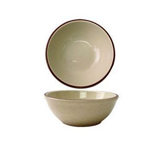 ITI GR-15 12-1/2 oz. Granada Brown Speckled Oatmeal / Nappie Bowl - 3 doz